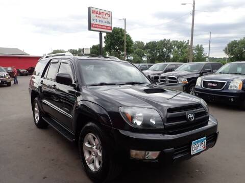 2005 Toyota 4Runner for sale at Marty's Auto Sales in Savage MN