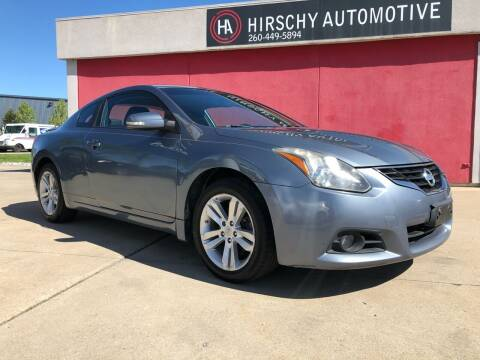 2010 Nissan Altima for sale at Hirschy Automotive in Fort Wayne IN