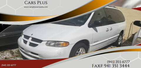 2000 Dodge Grand Caravan for sale at Cars Plus in Sarasota FL