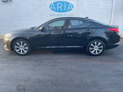 2012 Kia Optima for sale at ARIA  AUTO  SALES in Raleigh NC