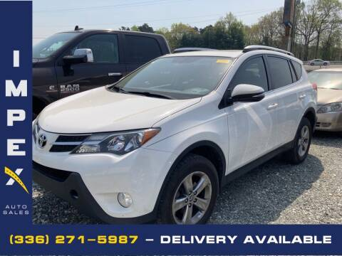 2015 Toyota RAV4 for sale at Impex Auto Sales in Greensboro NC