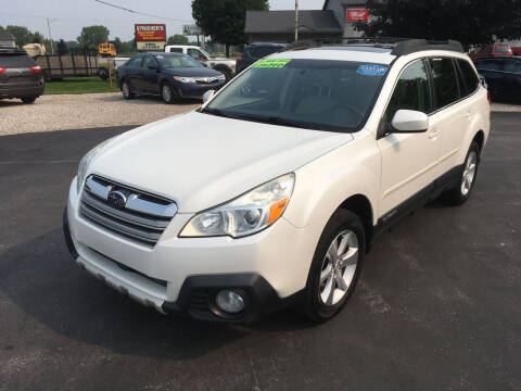 2013 Subaru Outback for sale at JACK'S AUTO SALES in Traverse City MI