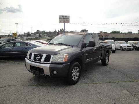 2006 Nissan Titan for sale at A&S 1 Imports LLC in Cincinnati OH