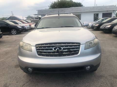 2005 Infiniti FX35 for sale at P S AUTO ENTERPRISES INC in Miramar FL