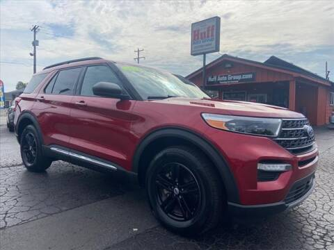 2020 Ford Explorer for sale at HUFF AUTO GROUP in Jackson MI