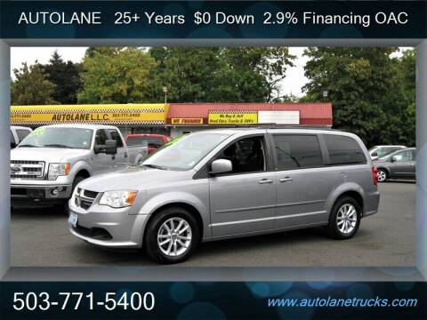 2013 Dodge Grand Caravan for sale at Auto Lane in Portland OR