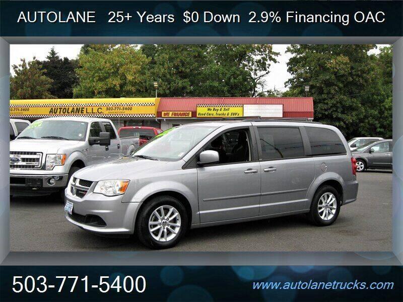 2013 Dodge Grand Caravan for sale at Auto Lane in Portland OR