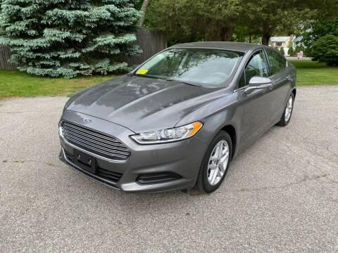 2014 Ford Fusion for sale at Boston Auto Cars in Dedham MA