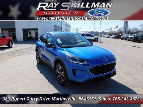 2021 Ford Escape for sale at Ray Skillman Hoosier Ford in Martinsville IN