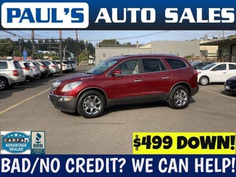 2010 Buick Enclave for sale at Paul's Auto Sales in Eugene OR