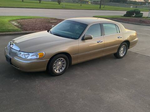 1998 Lincoln Town Car for sale at M A Affordable Motors in Baytown TX