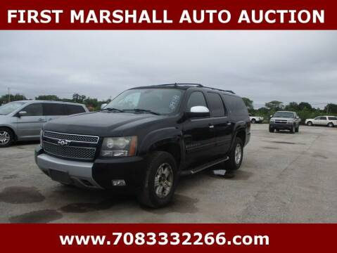 2008 Chevrolet Suburban for sale at First Marshall Auto Auction in Harvey IL