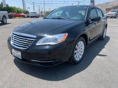 2013 Chrysler 200 for sale at Los Compadres Auto Sales in Riverside CA