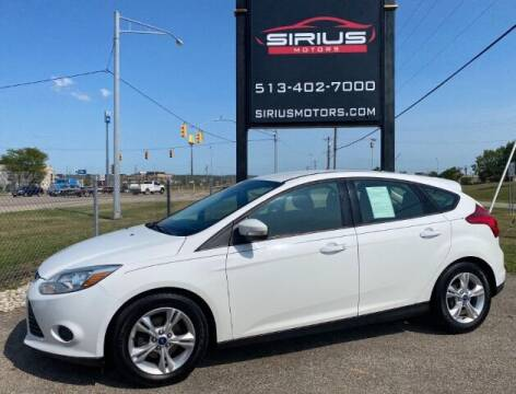 2013 Ford Focus for sale at SIRIUS MOTORS INC in Monroe OH
