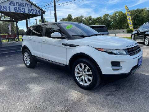 2014 Land Rover Range Rover Evoque for sale at QUALITY PREOWNED AUTO in Houston TX