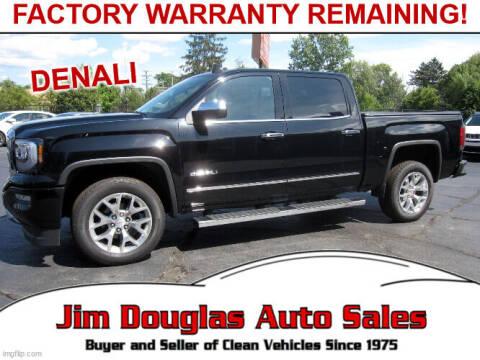 2018 GMC Sierra 1500 for sale at Jim Douglas Auto Sales in Pontiac MI