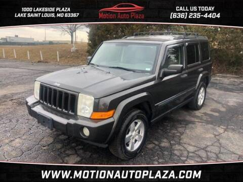 2006 Jeep Commander for sale at Motion Auto Plaza in Lakeside MO