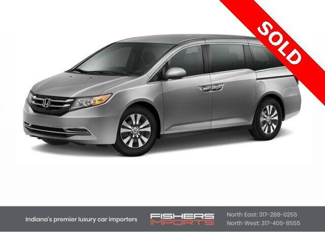 2016 Honda Odyssey for sale at Fishers Imports in Fishers IN