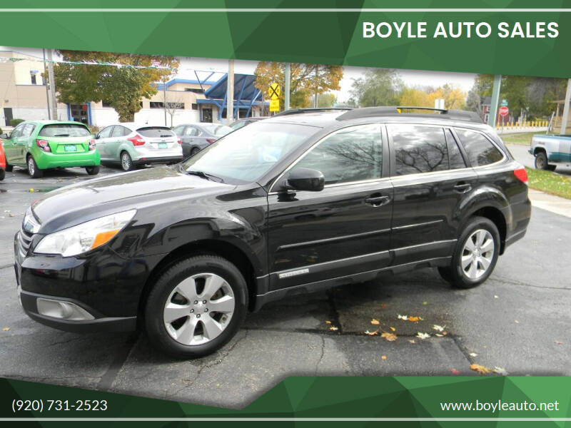 2011 Subaru Outback for sale at Boyle Auto Sales in Appleton WI