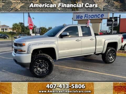 2018 Chevrolet Silverado 1500 for sale at American Financial Cars in Orlando FL