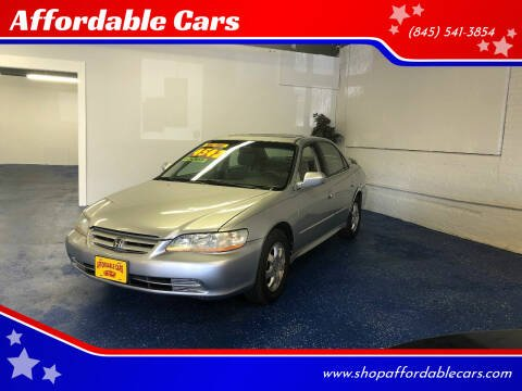 2001 Honda Accord for sale at Affordable Cars in Kingston NY