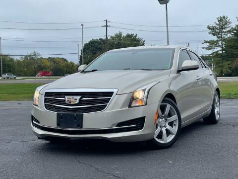 2015 Cadillac ATS for sale at MAGIC AUTO SALES in Little Ferry NJ