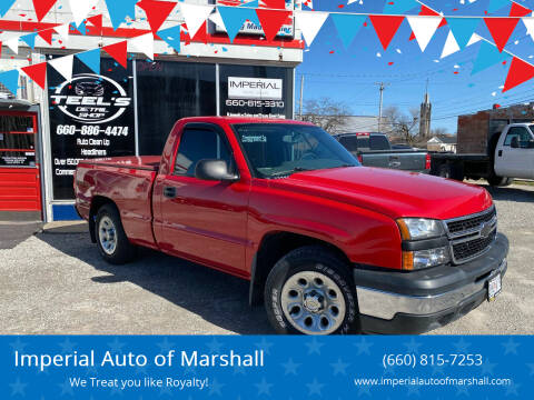 2007 Chevrolet Silverado 1500 Classic for sale at Imperial Auto of Marshall in Marshall MO