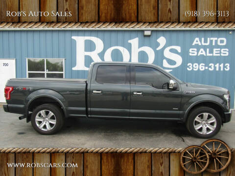 2015 Ford F-150 for sale at Rob's Auto Sales - Robs Auto Sales in Skiatook OK
