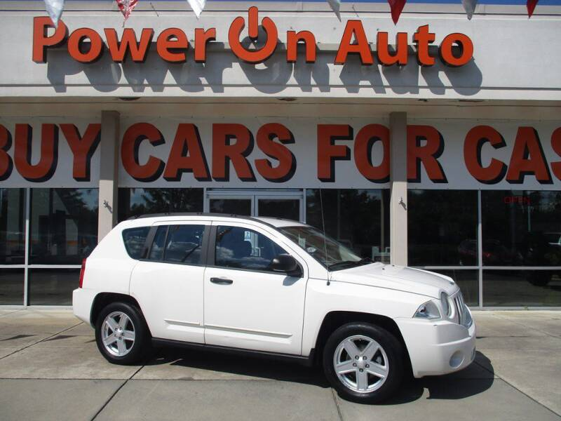 2008 Jeep Compass for sale at Power On Auto LLC in Monroe NC