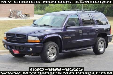 1998 Dodge Durango for sale at My Choice Motors Elmhurst in Elmhurst IL