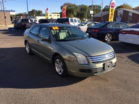 2008 Ford Fusion for sale at GREAT DEAL AUTO SALES in Center Line MI