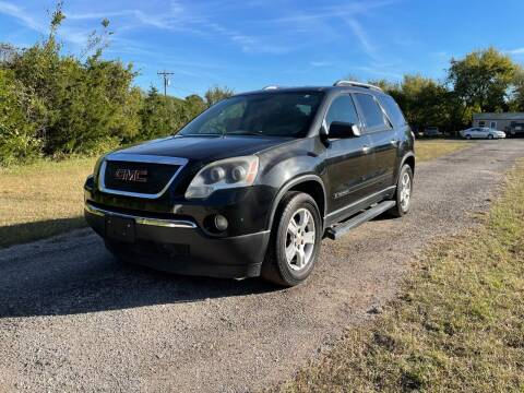 2008 GMC Acadia for sale at The Car Shed in Burleson TX