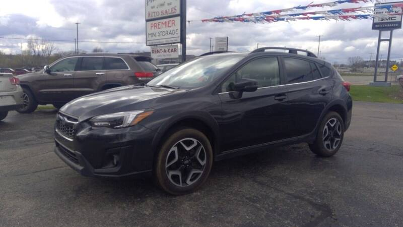 2019 Subaru Crosstrek for sale at Premier Auto Sales Inc. in Big Rapids MI