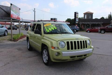 2010 Jeep Patriot for sale at E & S Auto Sales in Crest Hill IL