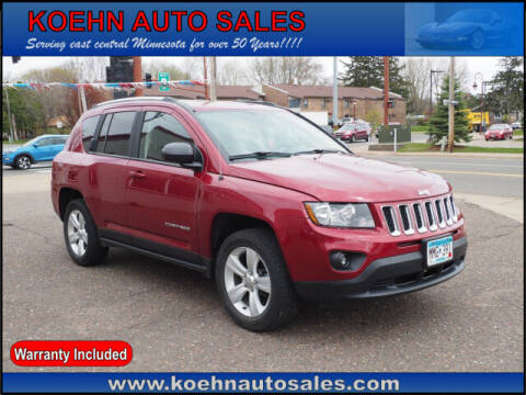2014 Jeep Compass for sale at Koehn Auto Sales in Lindstrom MN