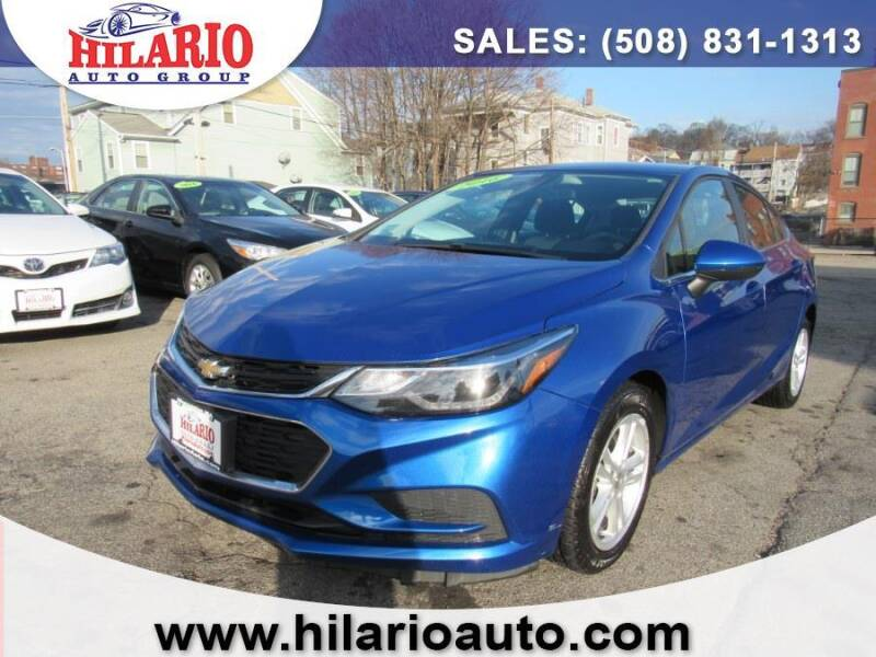 2016 Chevrolet Cruze for sale at Hilario's Auto Sales in Worcester MA