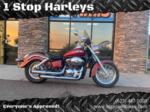 2002 Honda ShadowAce for sale at 1 Stop Harleys in Peoria AZ