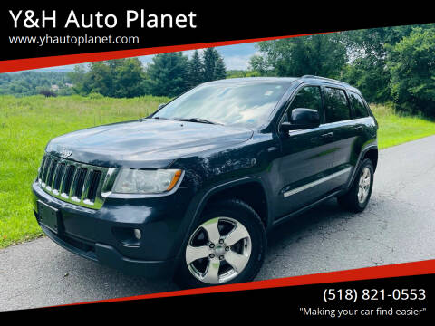 2012 Jeep Grand Cherokee for sale at Y&H Auto Planet in West Sand Lake NY