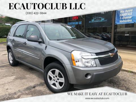 2006 Chevrolet Equinox for sale at ECAUTOCLUB LLC in Kent OH