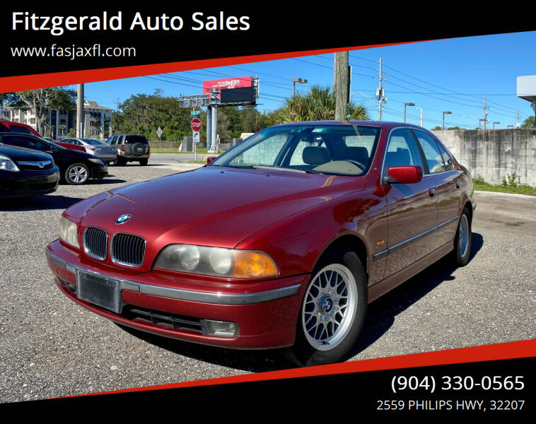 2000 BMW 5 Series for sale at Fitzgerald Auto Sales in Jacksonville FL
