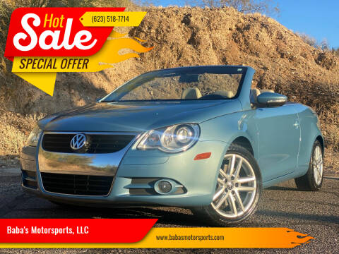 2009 Volkswagen Eos for sale at Baba's Motorsports, LLC in Phoenix AZ