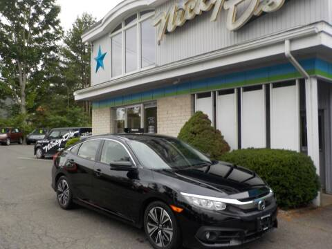 2018 Honda Civic for sale at Nicky D's in Easthampton MA