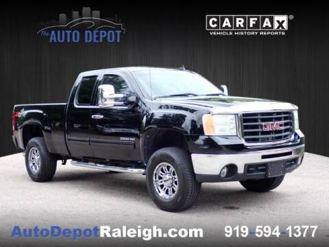 2010 GMC Sierra 2500HD for sale at The Auto Depot in Raleigh NC