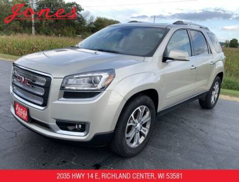 2016 GMC Acadia for sale at Jones Chevrolet Buick Cadillac in Richland Center WI