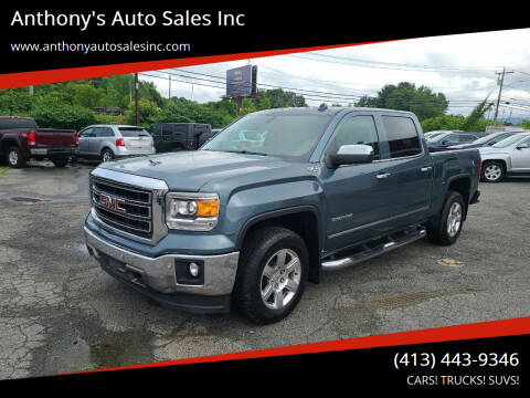 2014 GMC Sierra 1500 for sale at Anthony's Auto Sales Inc in Pittsfield MA