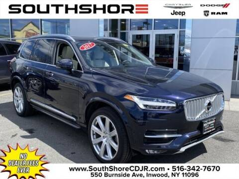 2017 Volvo XC90 for sale at South Shore Chrysler Dodge Jeep Ram in Inwood NY