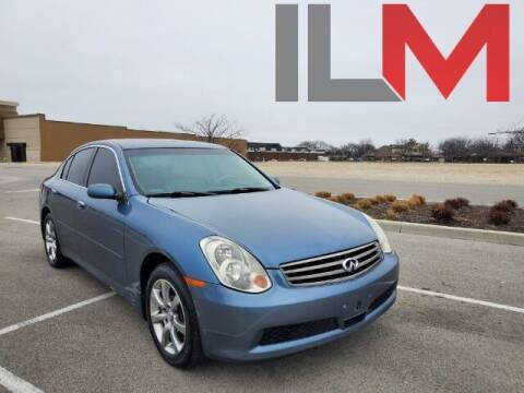 2006 Infiniti G35 for sale at INDY LUXURY MOTORSPORTS in Fishers IN