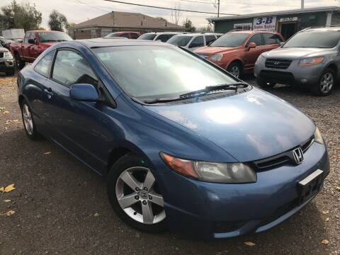 2007 Honda Civic for sale at 3-B Auto Sales in Aurora CO