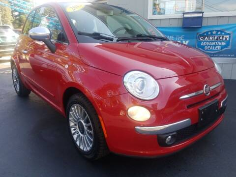 2013 FIAT 500 for sale at Fleetwing Auto Sales in Erie PA