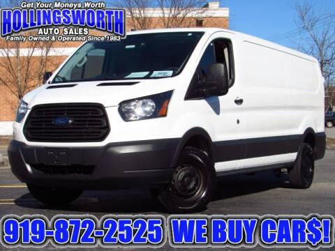2017 Ford Transit Cargo for sale at Hollingsworth Auto Sales in Raleigh NC